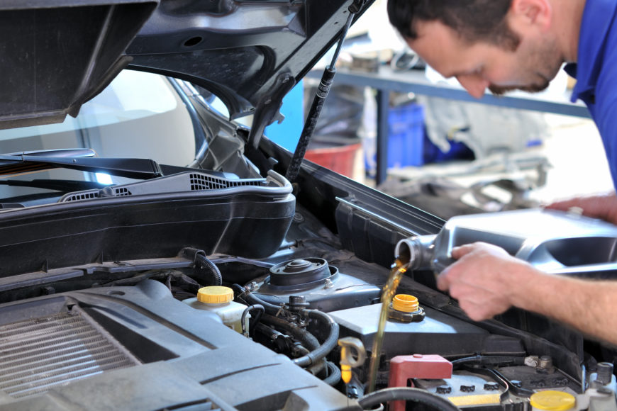 Oil Change, Fluid Replacement & Seasonal Maintenance